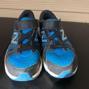 New Balance Shoes - NEW BALANCE Euc-Boy's  black & blue sneakers-12